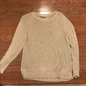 GUC loft gold detail sweater